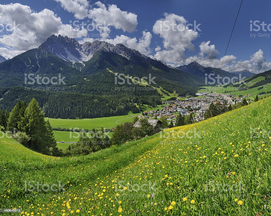 Puster Valley (Italy) stock photo