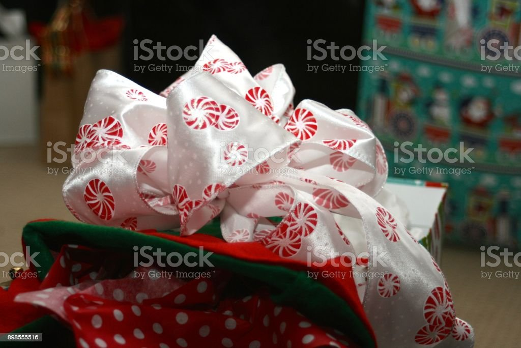 Put a Bow on It stock photo