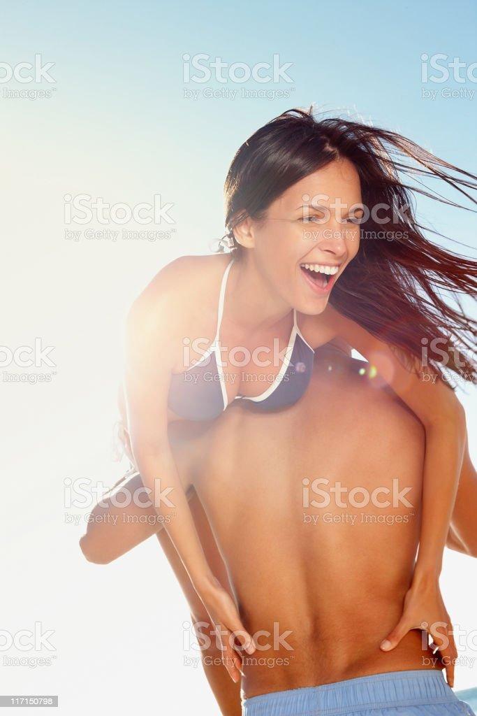 'Put me down' royalty-free stock photo