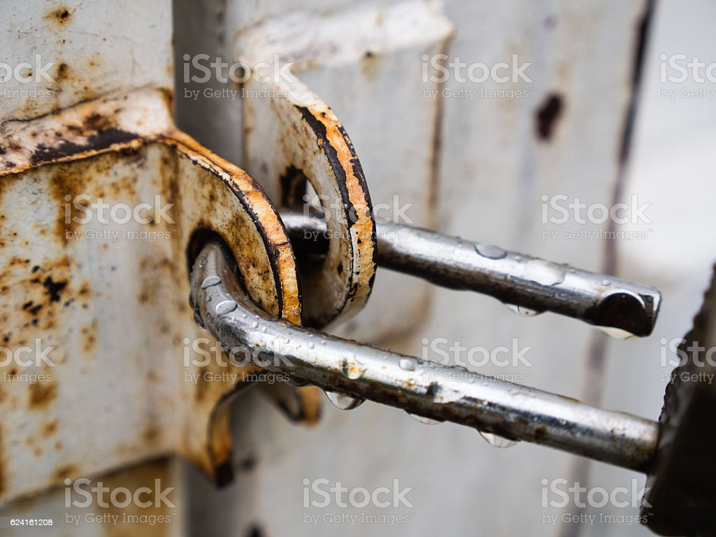 Put The Key After Rain stock photo