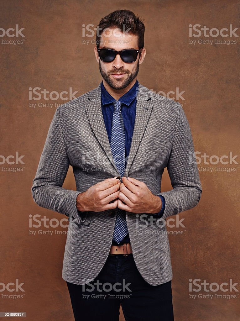 I put the man in manly stock photo