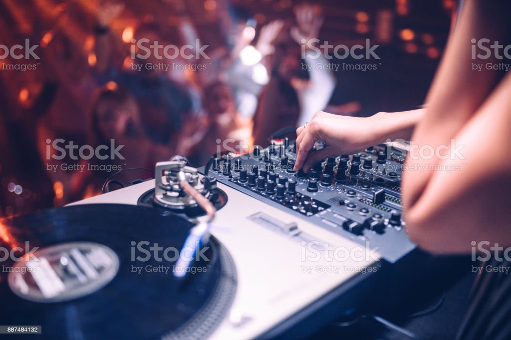 Put up the volume ! stock photo