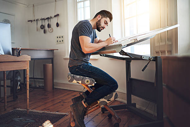 Put your passion for art to daily use stock photo
