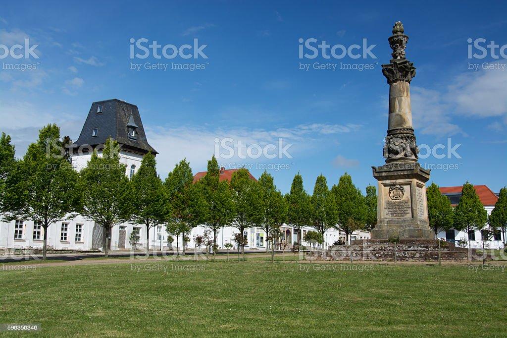 Putbus, Ruegen, Germany royalty-free stock photo
