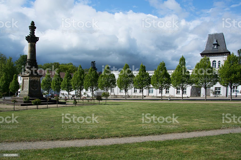 Putbus, Ruegen, Germany royalty-free stock photo
