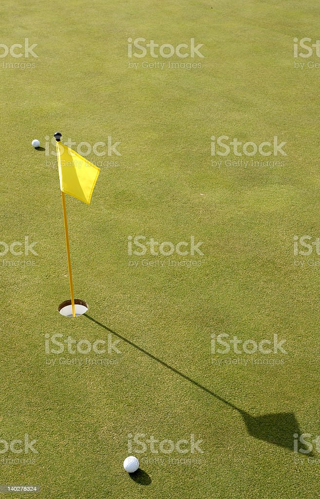 putter's green royalty-free stock photo