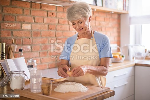 istock Putting all ingredients into the pastry 479166358