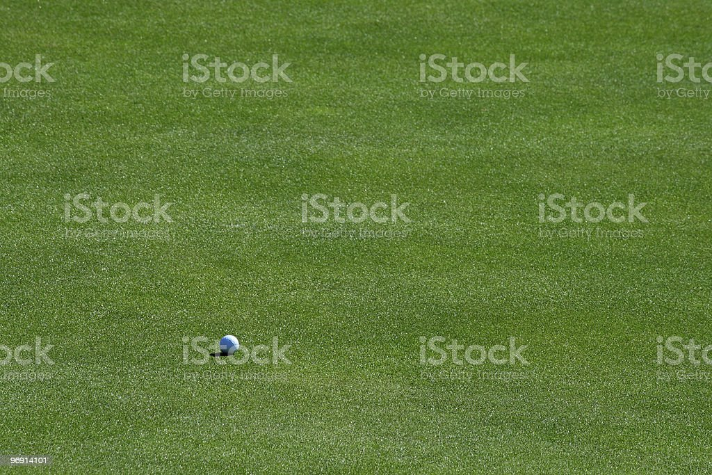 Putting Green royalty-free stock photo