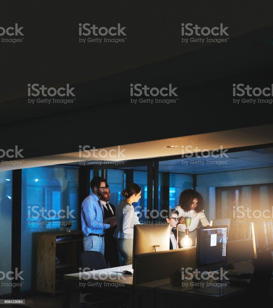 Setzen in der Nachspielzeit, den Termin pünktlich einzuhalten Lizenzfreies stock-foto