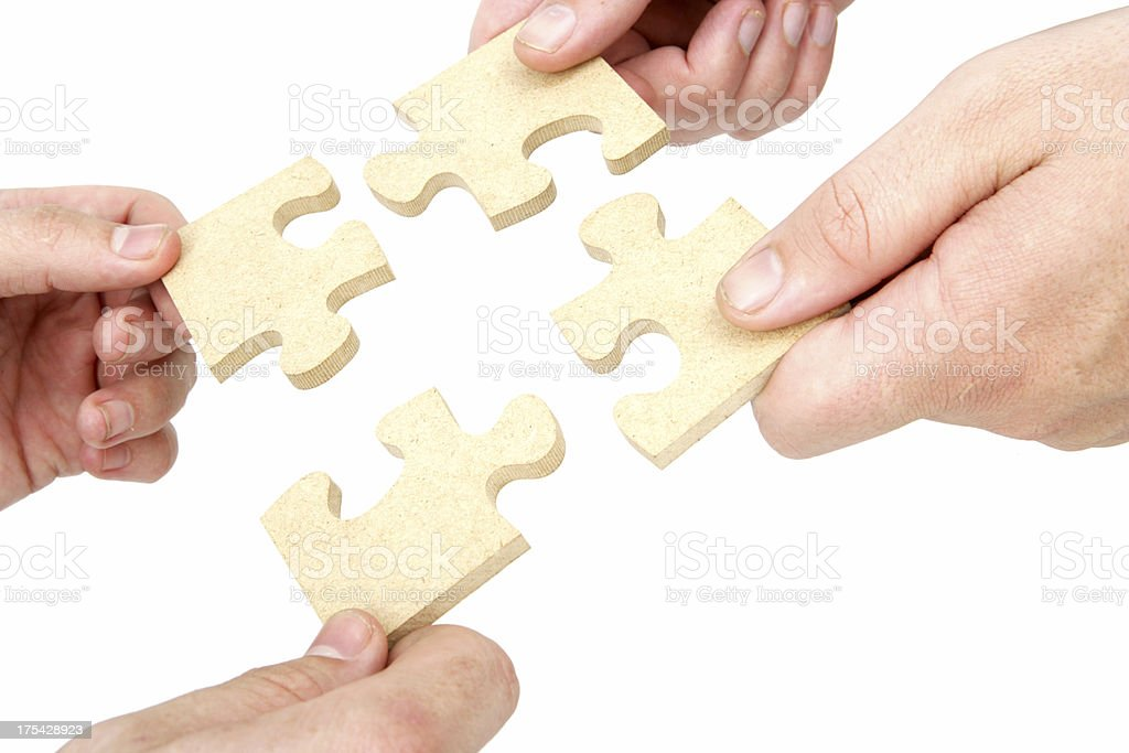 Putting it Together royalty-free stock photo