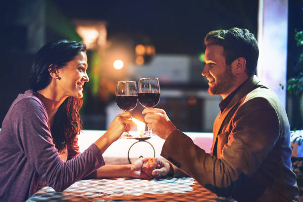 putting time and effort into their relationship - dating stock photos and pictures