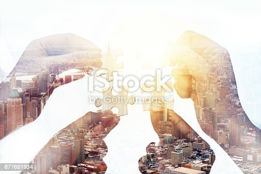 istock Putting together success 677661934