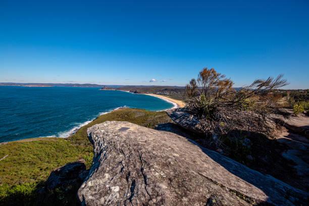 Putty Beach, NSW Central Coast stock photo