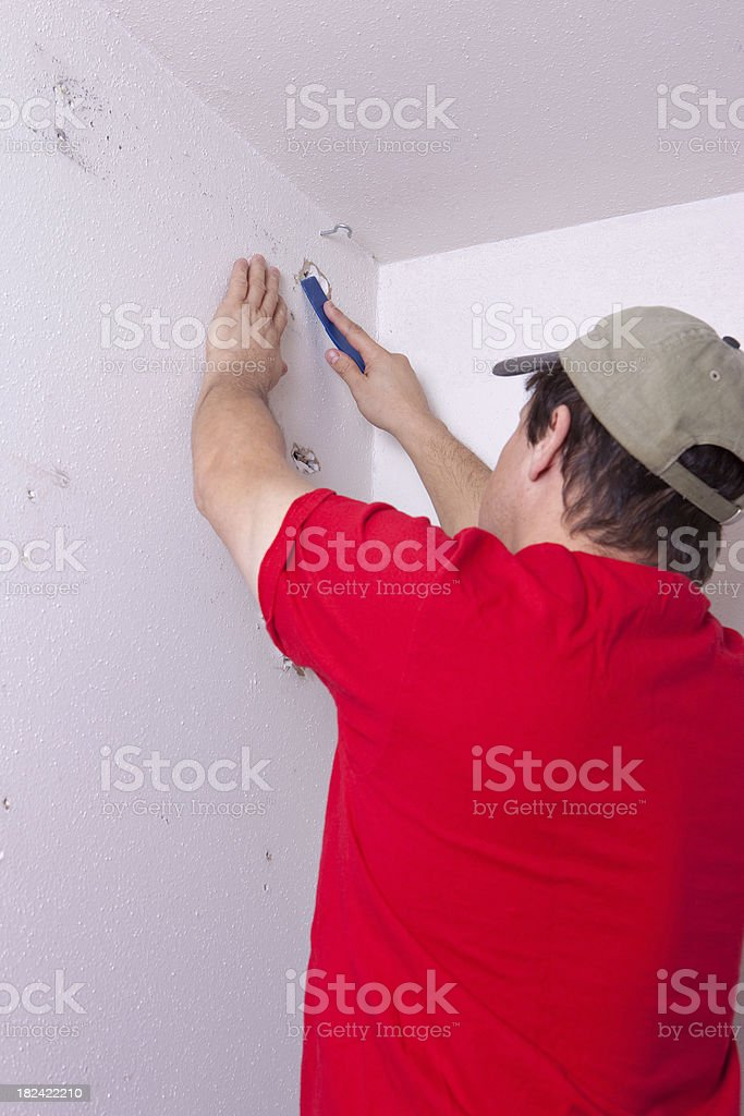 Putty Knife royalty-free stock photo
