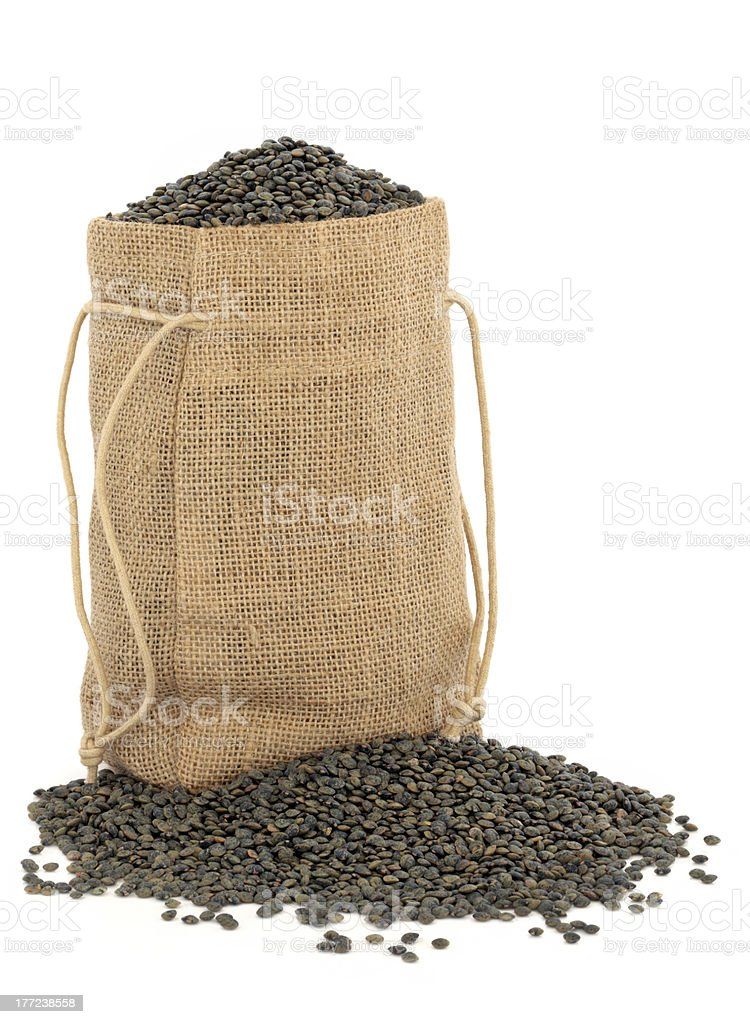 Puy Lentils royalty-free stock photo