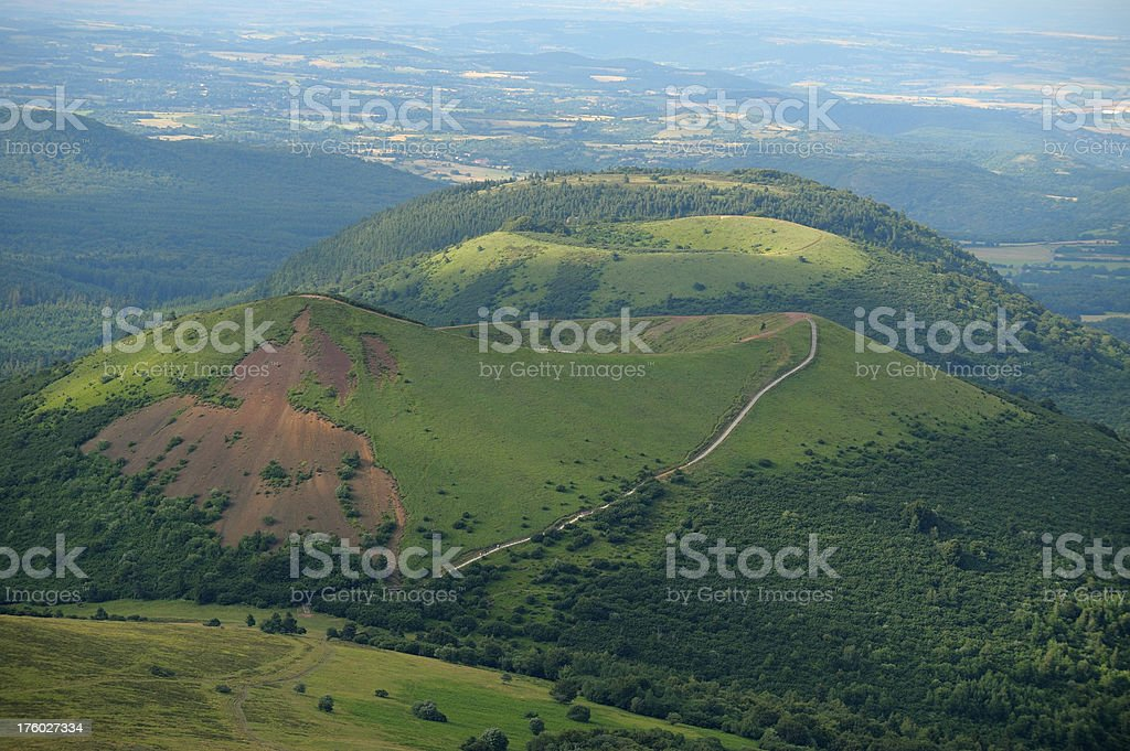 puy Pariou stock photo