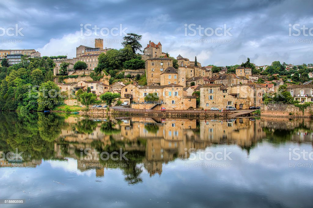 Puy-l'Eveque stock photo
