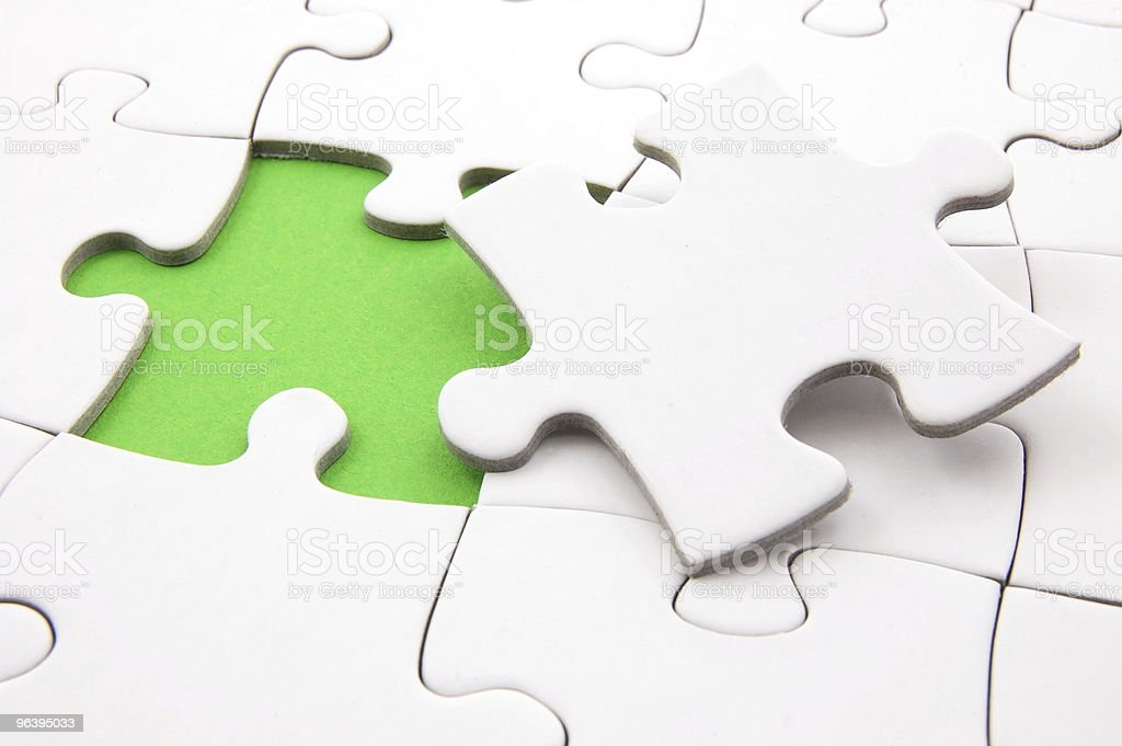 puzzle background - Royalty-free Absence Stock Photo