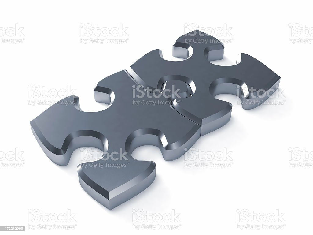Puzzle Concept V royalty-free stock photo