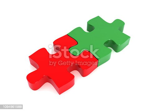 istock Puzzle connection 1094961588