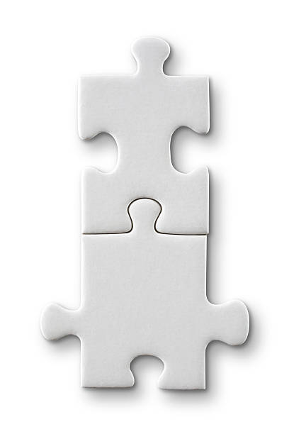 puzzle connection - jigsaw puzzle stock photos and pictures