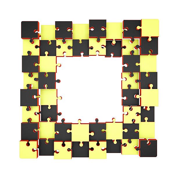 Royalty Free Broken Jigsaw Puzzle Frame Pictures, Images and Stock ...