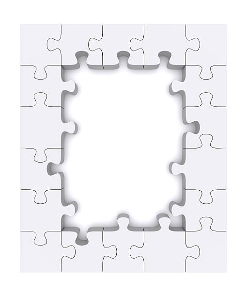 Royalty Free Jigsaw Puzzle Border Pictures, Images and Stock Photos ...