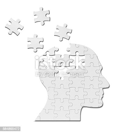 862431374 istock photo puzzle game solution head silhouette mind brain 584865472