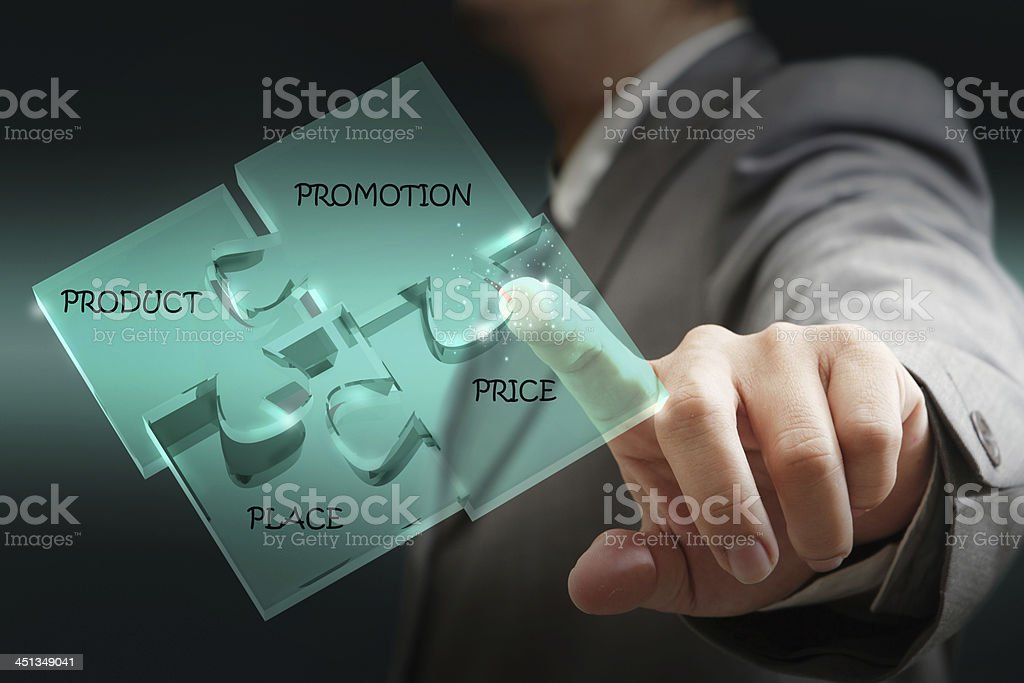 puzzle glass diagram royalty-free stock photo