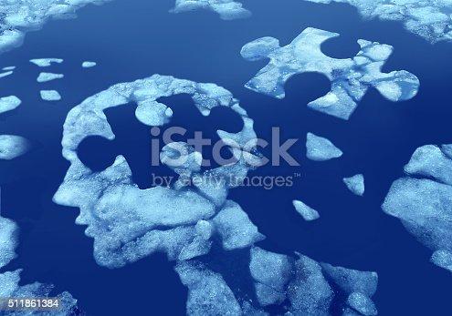 istock Puzzle Head Idea 511861384