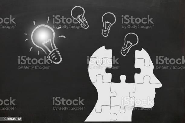 Puzzle head silhouette mind brain memory creative bright idea picture id1046905218?b=1&k=6&m=1046905218&s=612x612&h= bq4syrstafrd1aiyzmcroqqrgfmgyjimrtoilwciqo=