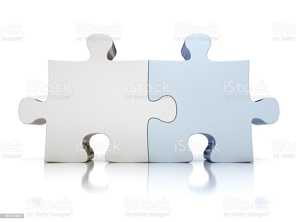 Puzzle - Perfect match stock photo