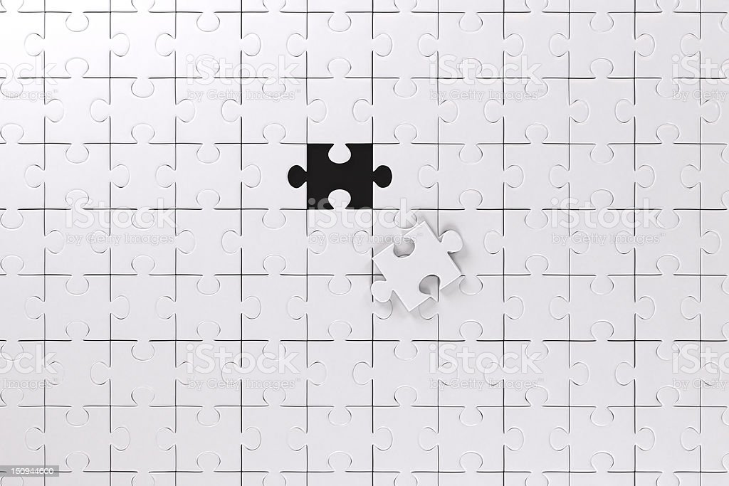 Puzzle royalty-free stock photo