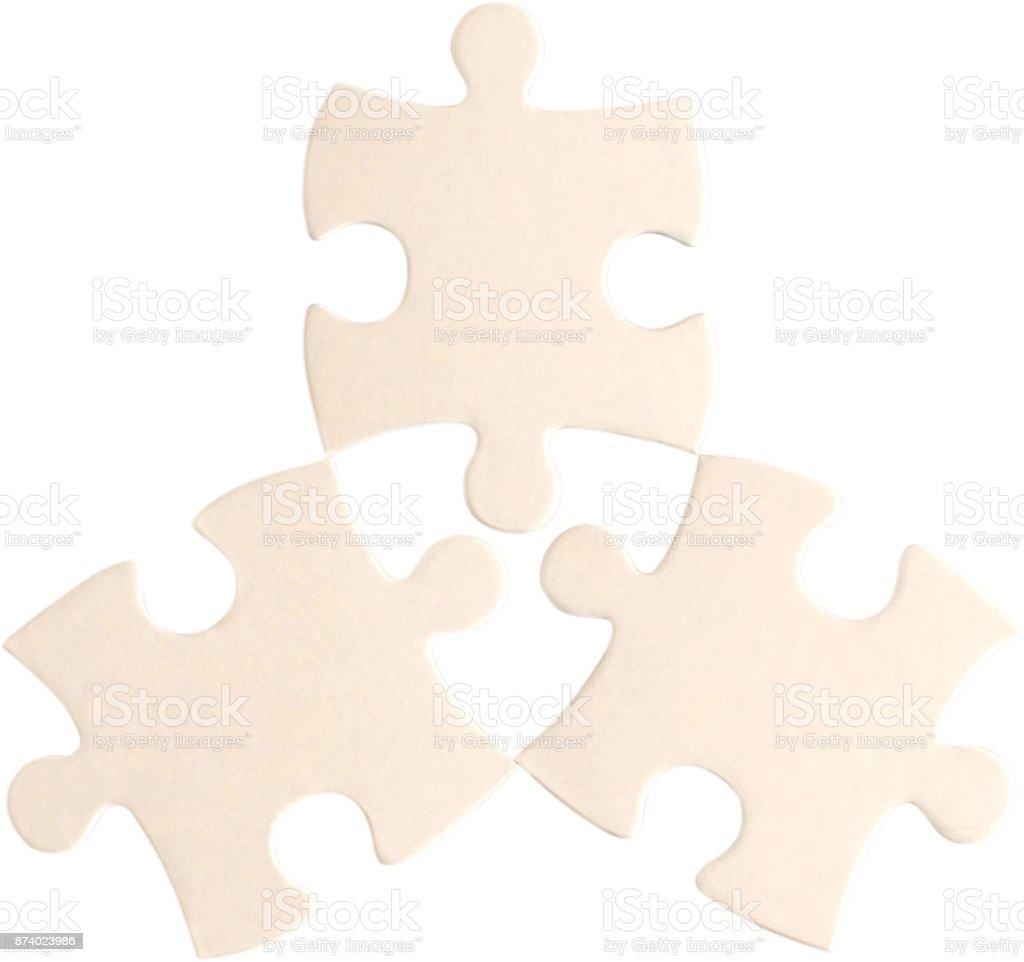 Puzzle. stock photo