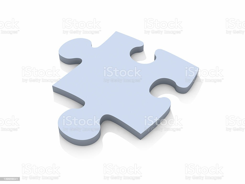 Puzzle Piece royalty-free stock photo