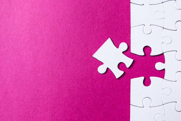 puzzle pieces - incomplete stock pictures, royalty-free photos & images