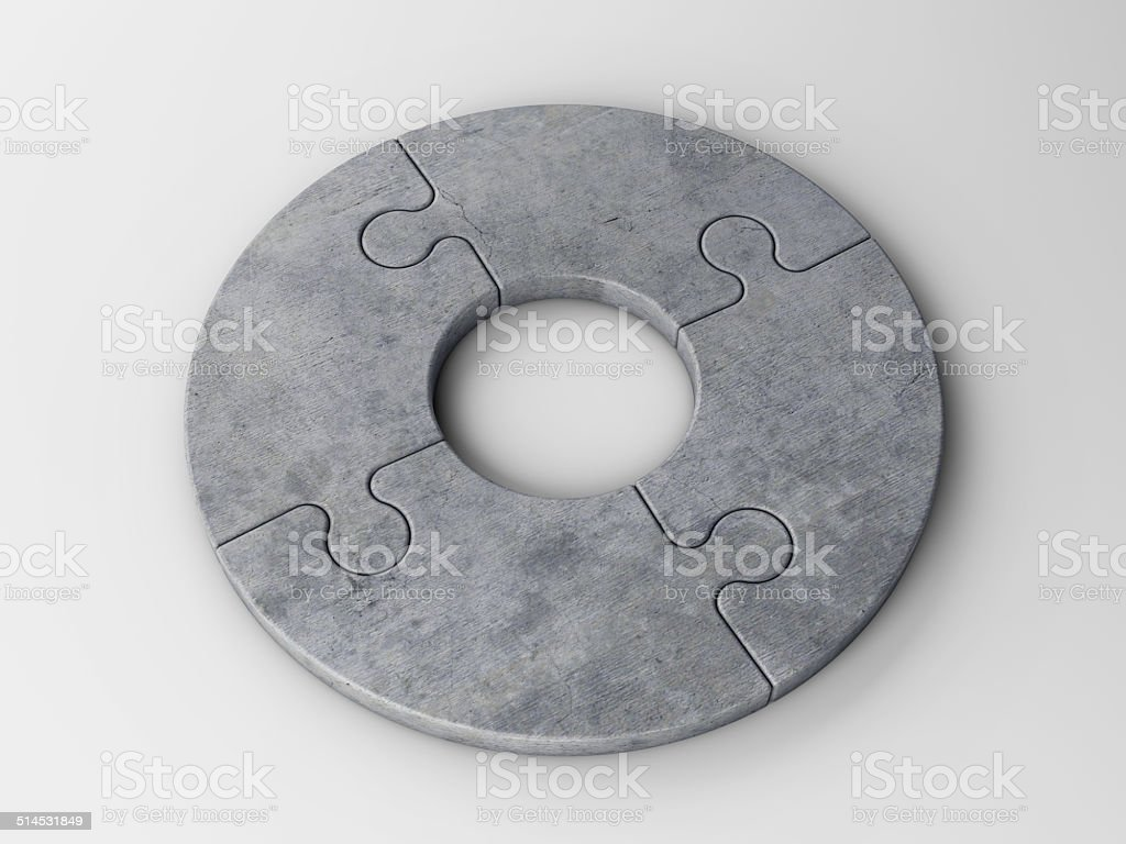 puzzle pieces to place concepts stock photo