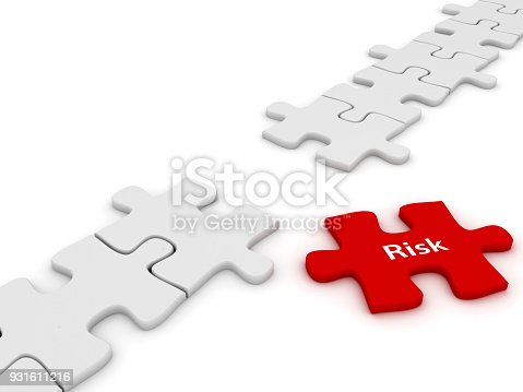 Puzzle risk insurance protection