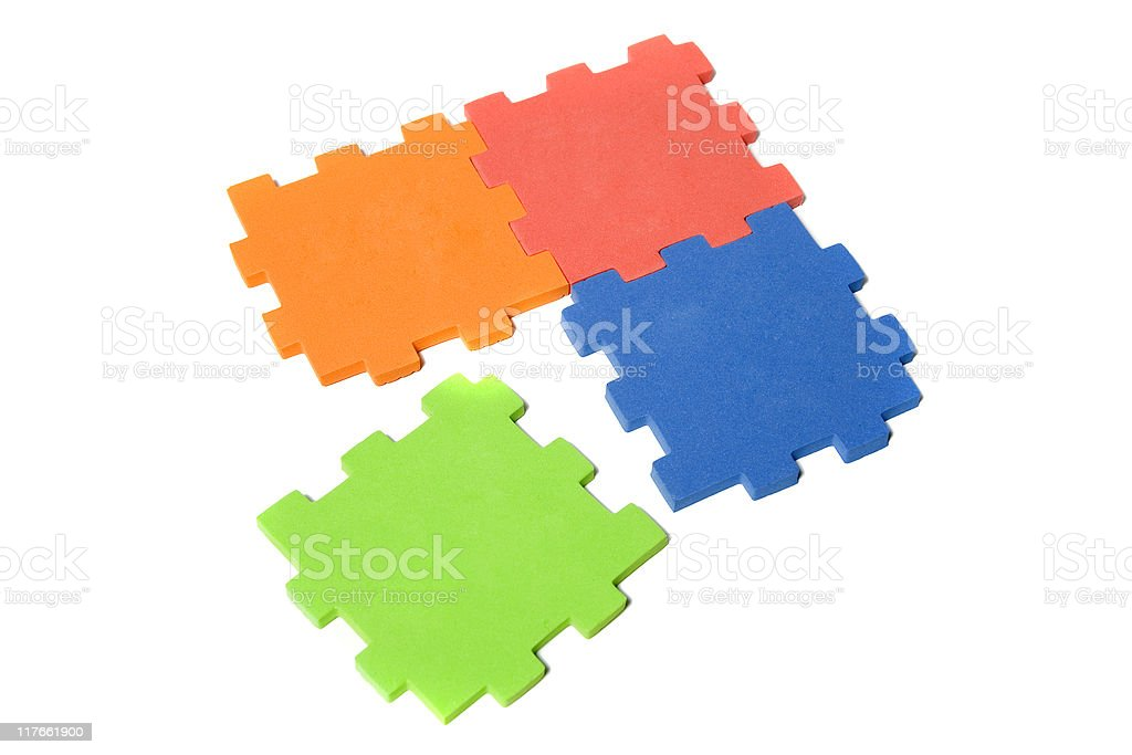 Puzzle series royalty-free stock photo
