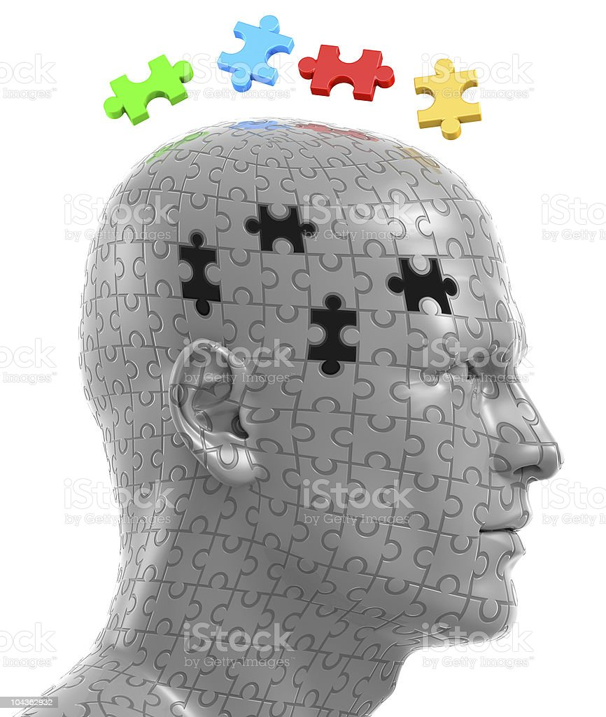 Puzzle Solution royalty-free stock photo