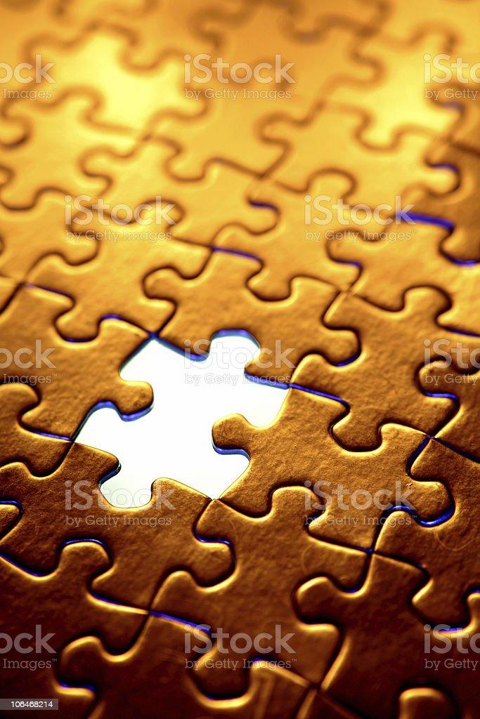 Puzzle5 royalty-free stock photo