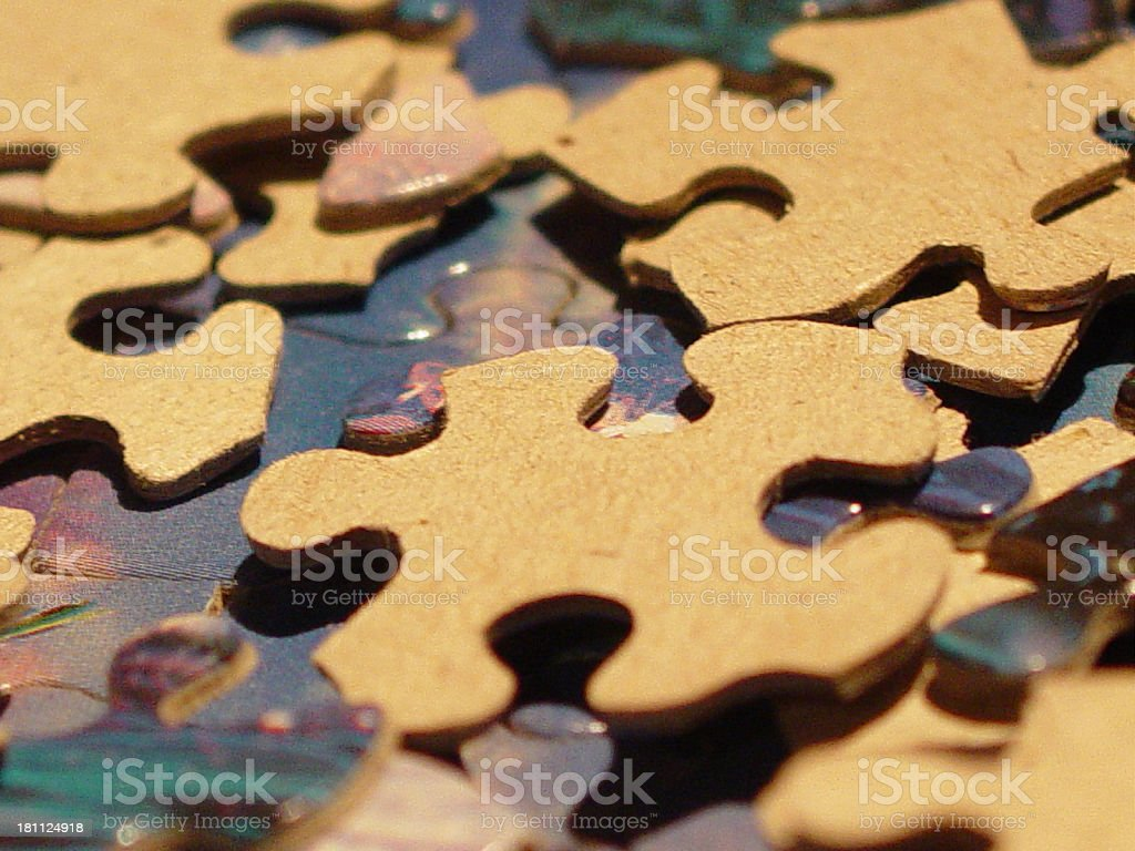 Puzzled royalty-free stock photo