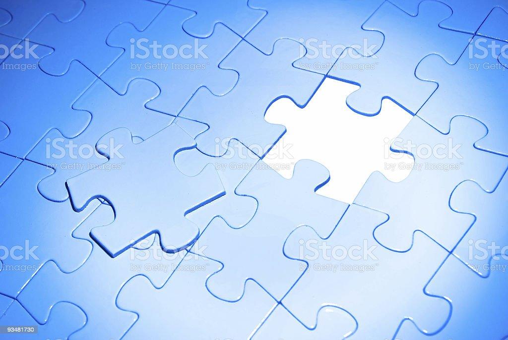 퍼즐 - 로열티 프리 개체 그룹 스톡 사진