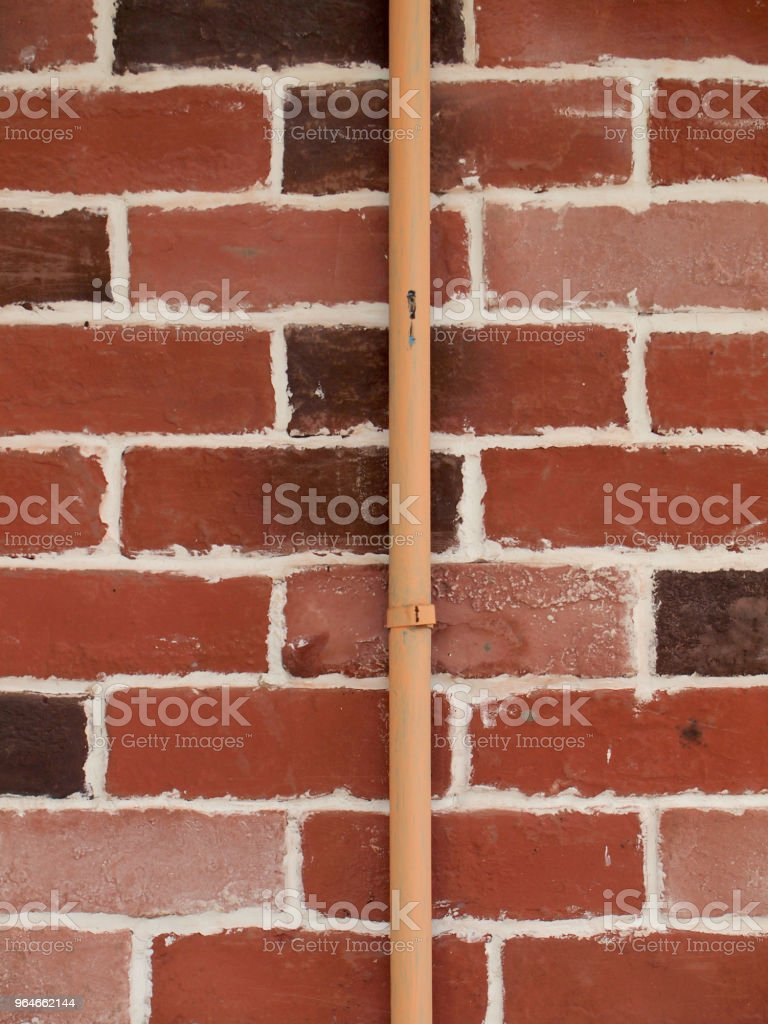 pvc pipe for water piping system resident royalty-free stock photo