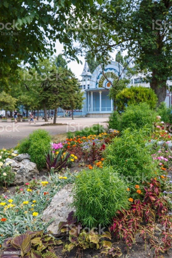 Pyatigorsk city in Russia in summer stock photo