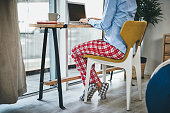 istock Pyjamas all day, the perks of working from home 1278954275
