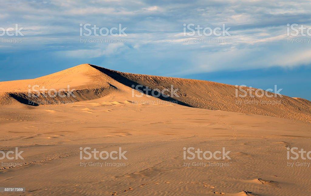 Pyla dune stock photo