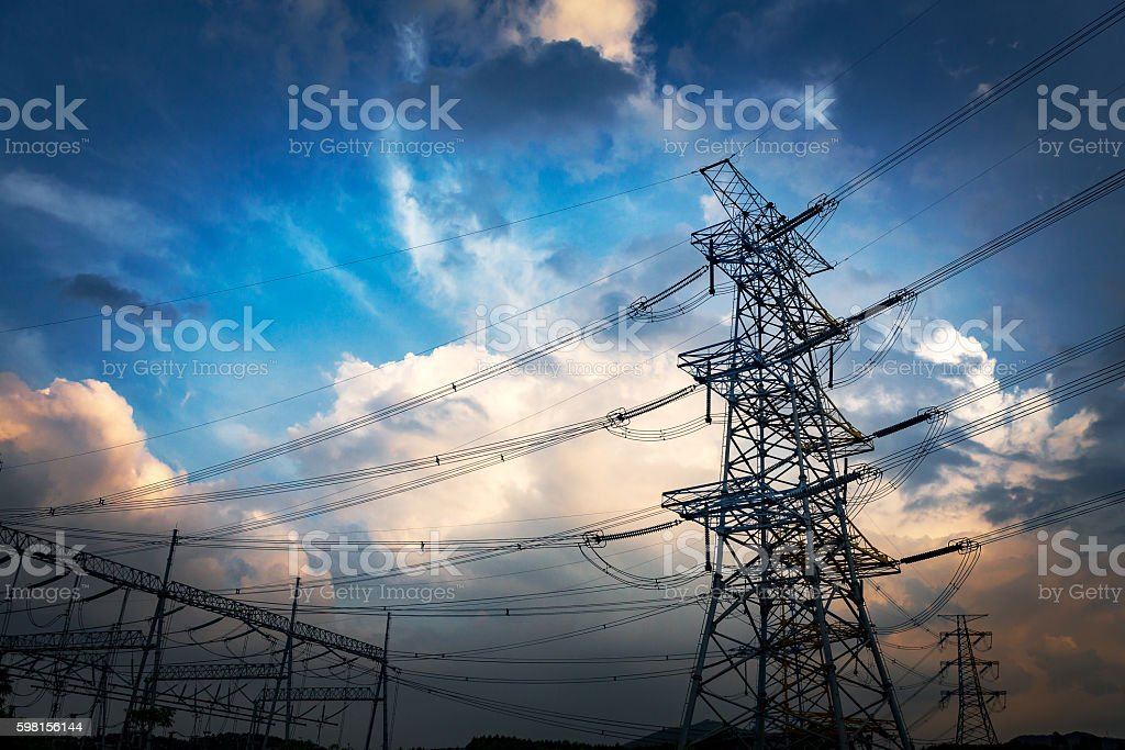 pylon stock photo