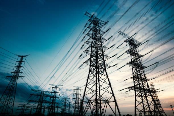 pylon - elektryczność zdjęcia i obrazy z banku zdjęć