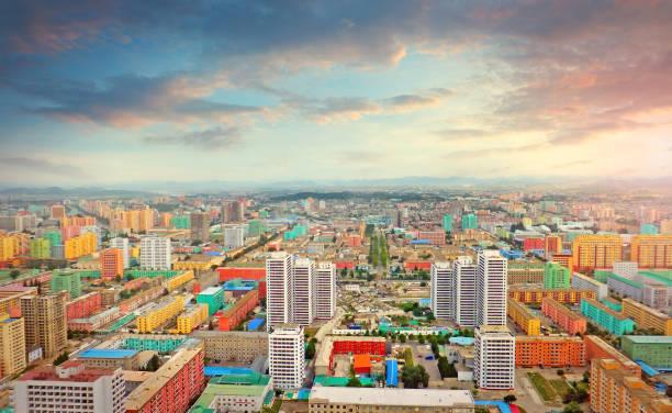 Pjöngjang, der Hauptstadt von Nordkorea – Foto